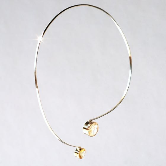 Gold-Silber Collier Tomorrow