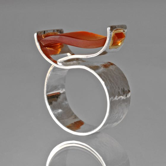 Ring Wave-Silver